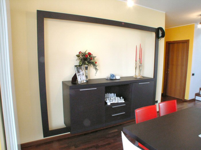 Mood soggiorno Cislago credenza